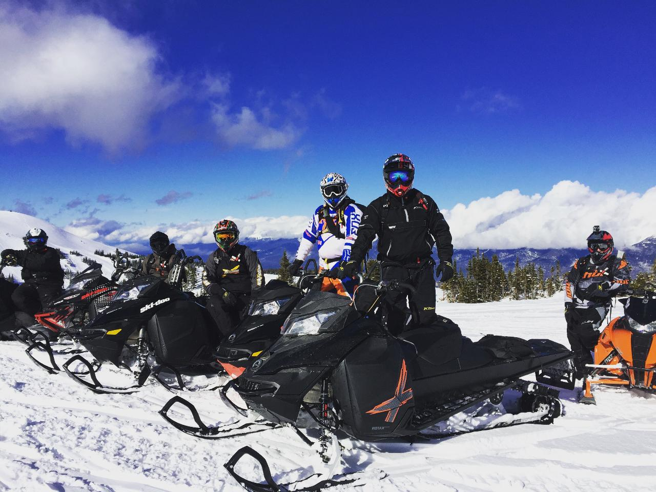 Snowmobile AST 1  - Field Day - Revelstoke, BC