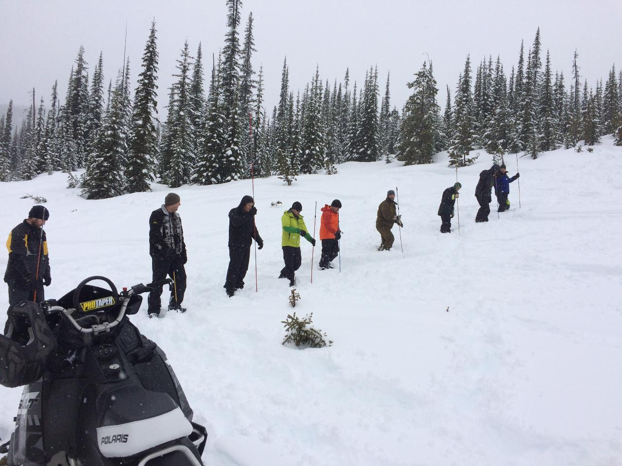 Snowmobile AST 1 - Full Course in Fernie, BC