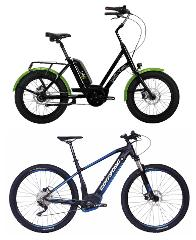 Electric Bike Hire - Half Day (Up to Four hours)