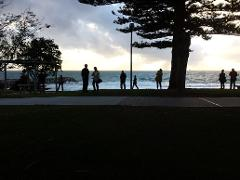 Ocean Sunset & City Lights - Cottesloe Beach