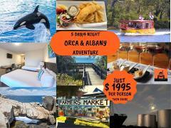 Orca & Albany Adventure
