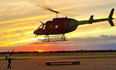 VIP Dallas Skyline Tour for two -  GROUP FLIGHT -  with option to add a *3-course gourmet dinner. (approx 15 - 18 min)