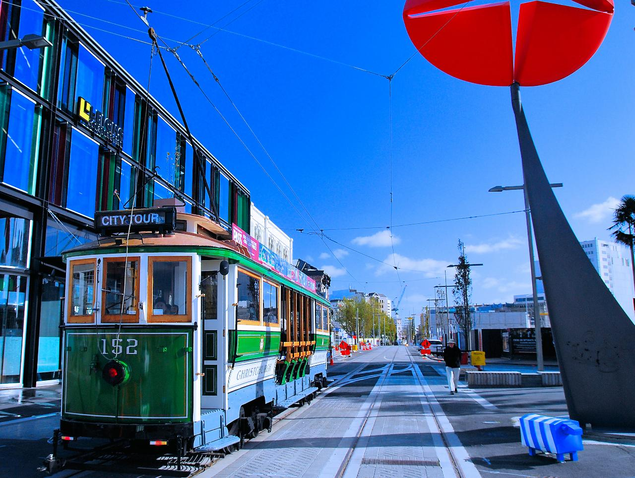 Christchurch Tram City Tour