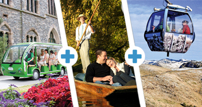 Punt, Gardens Tour & Gondola Triple Pass: ~ Mar 20 & Oct 20 ~