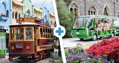 Tram & Gardens Tour combo
