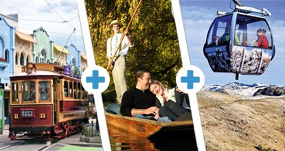 Tram, Punting & Gondola Triple Pass: ~ Mar 20 & Oct 20 ~