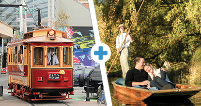 Tram & Punting on the Avon combo: ~ Mar 20 & Oct 20 ~