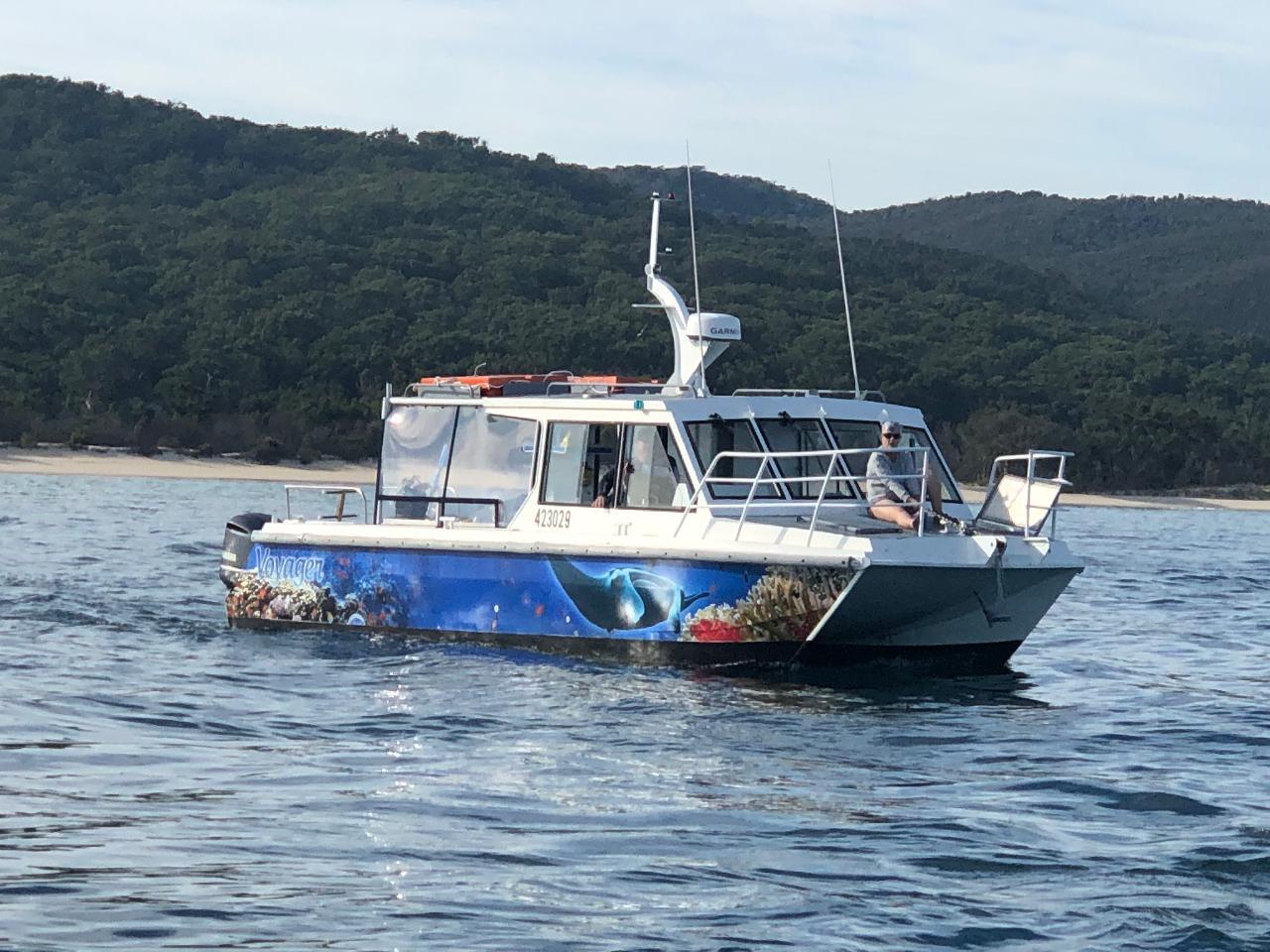 2 Dive Trip - Cementco Wreck and Flinders Reef Night Dive
