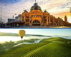 Melbourne City & Yarra Valley Wineries – Private Tour