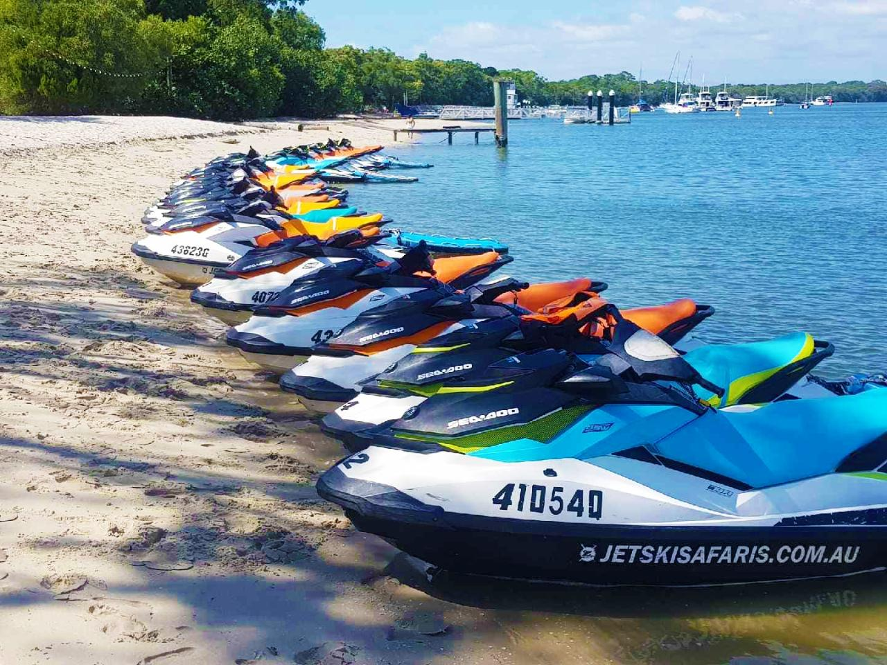 Parasailing plus 1 hour Jet Ski Safari - 2 Adults