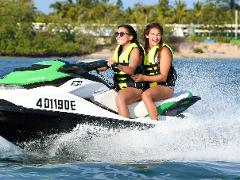 Parasailing plus Jet Ski Safari 30 Minutes - 2 adults