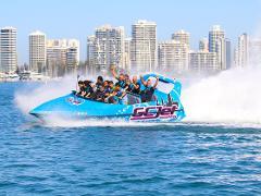 Jet Boating 55min Thrill ride (Tandem)