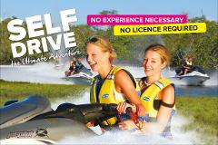 Jet boat, Parasailing plus Jet Ski Safari for 2.5hrs - 2 adult