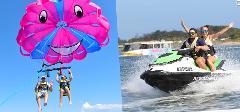 Parasailing plus Jet Ski Safari 1 Hour