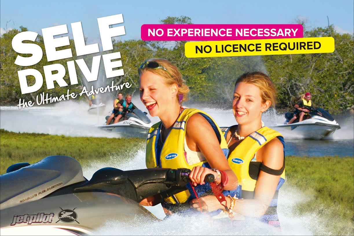 Jetboating plus Jet Ski Safari 30 Minutes - 2 Adults