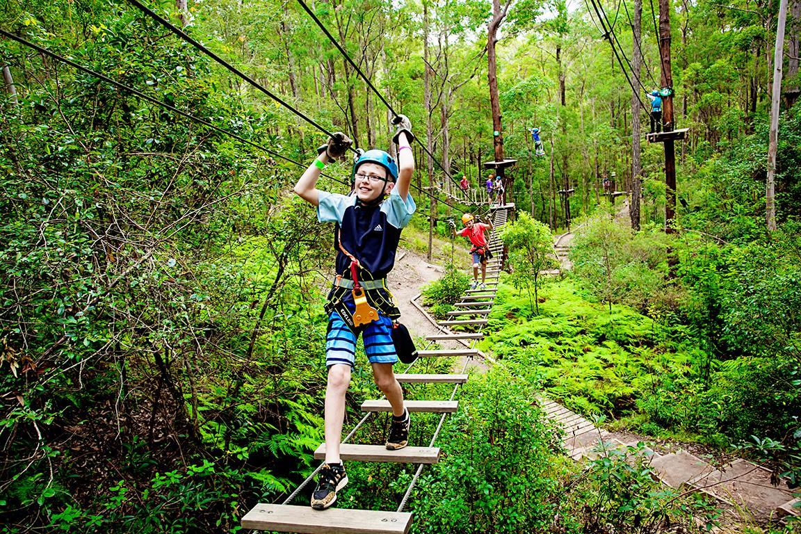 TreeTop Challenge - Tamborin Mtn Adventure Park