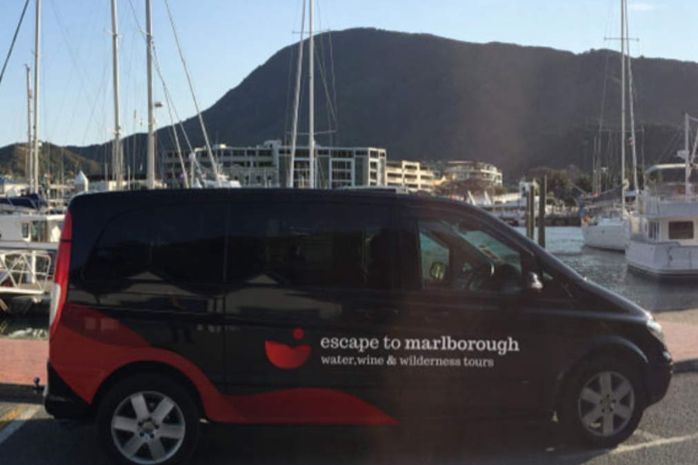 Shuttle (Picton - Blenheim One location or to a Winery or Blenheim - Picton)