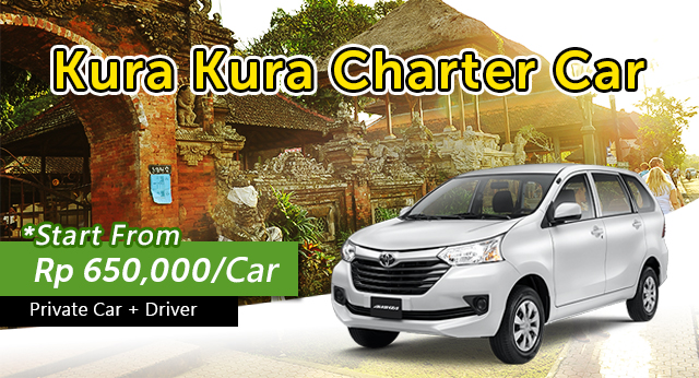 10 Hours Charter Car From South Area To Ubud/Tanah Lot/Uluwatu