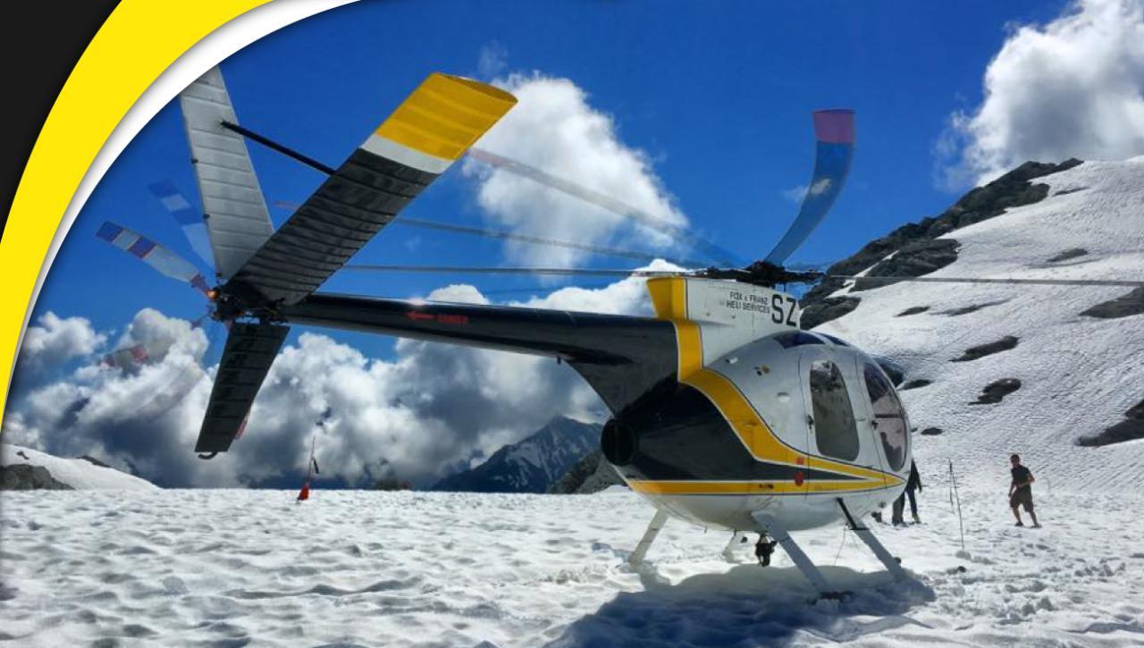 Twin Glacier REDUCED FROM $365 (Franz Josef departure)