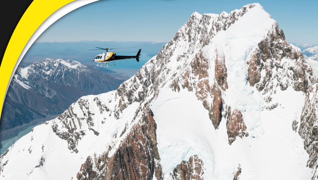 Fox Glacier and Mt Cook / REDUCED FROM $365 (departs from Fox Glacier only)