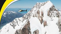 Fox Glacier and Mt Cook (departs from Fox Glacier only)
