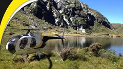The Hanging Lakes (Haast departure)