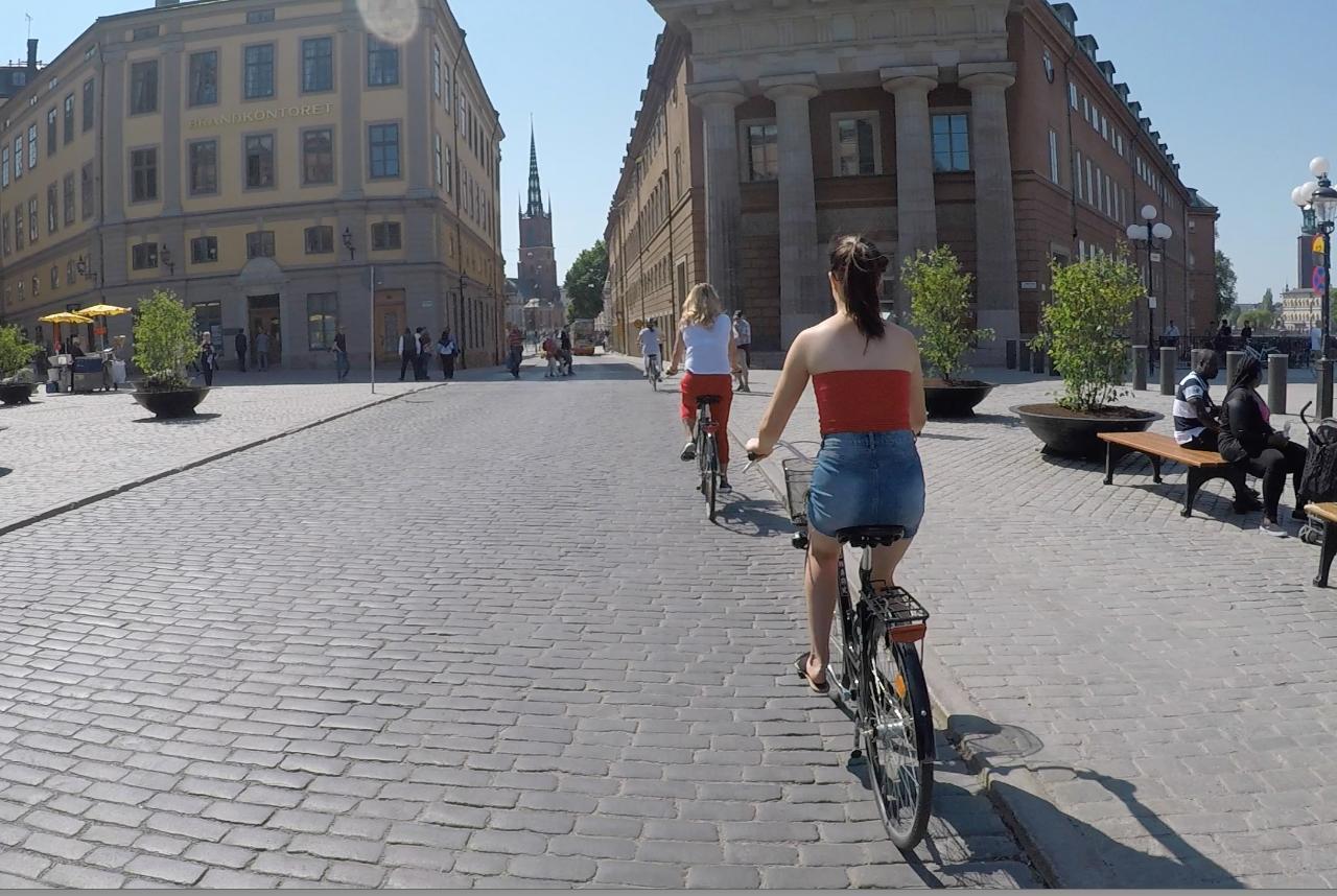 Stockholm FahrradTour - Nachmittag