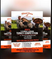 2021 3rd Annual Turkey Round 2 Tri-State Hunt Competition