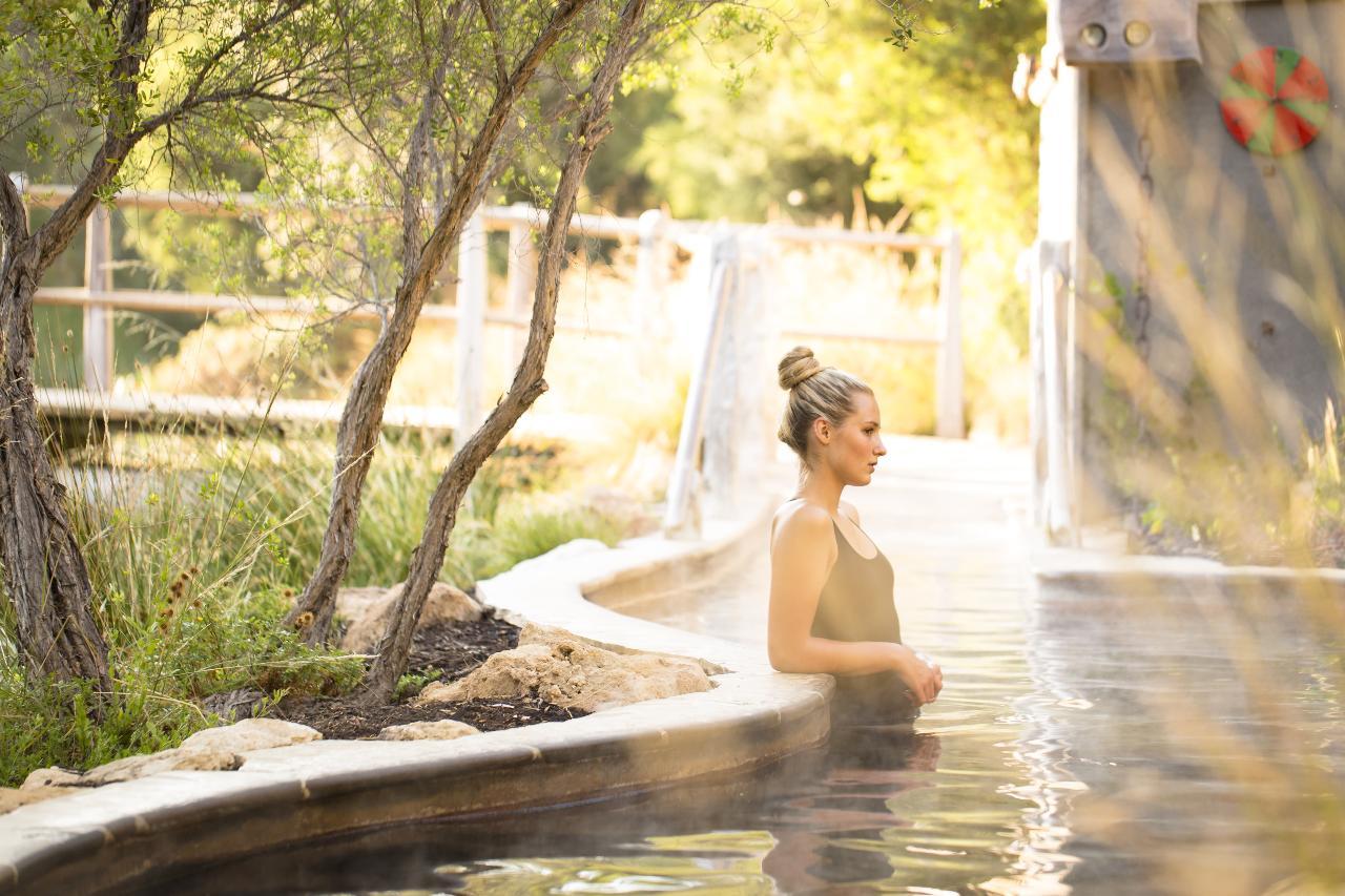 Peninsula Hot Springs Bath house