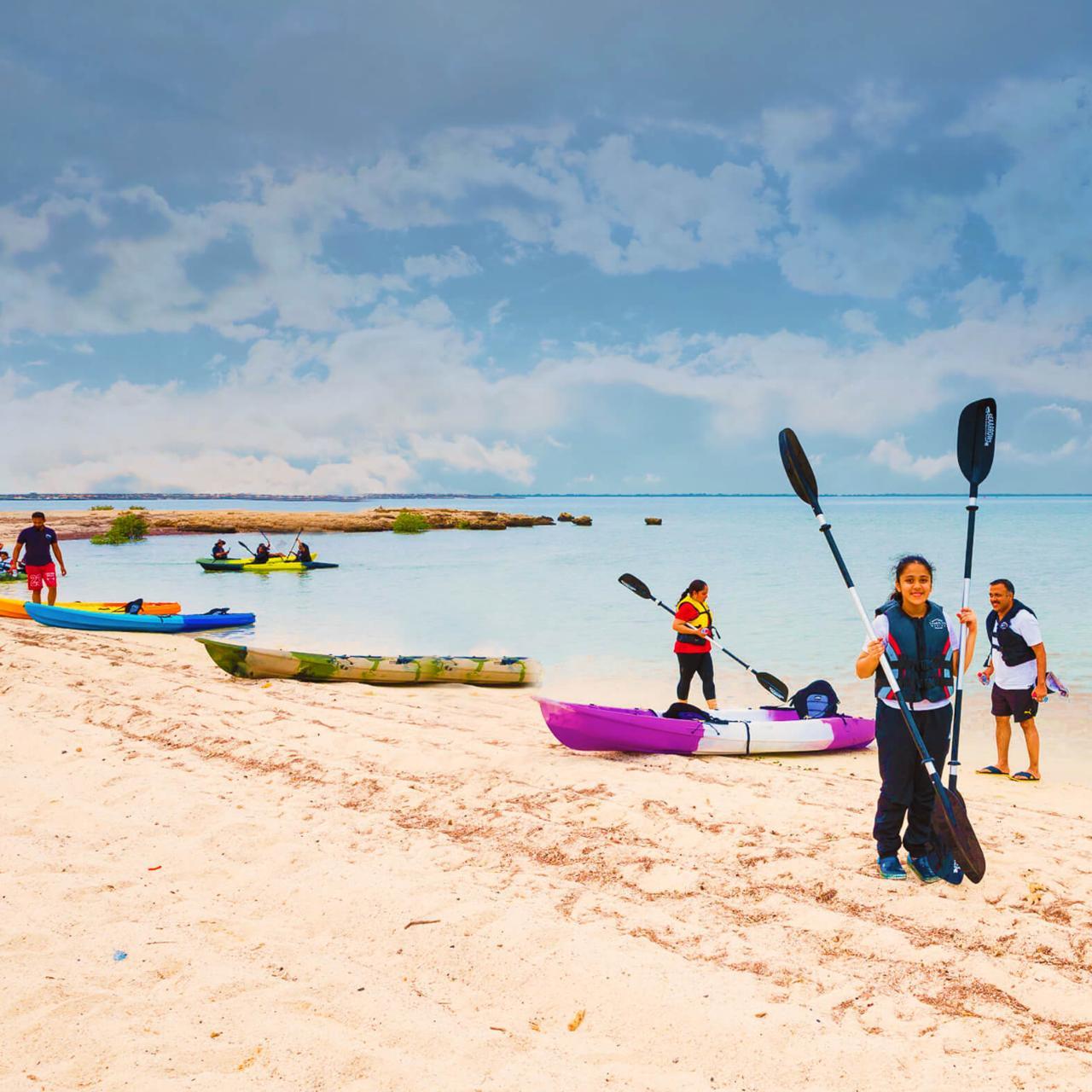 Kayaking In Purple Island (Al Thakhira Mangroves)