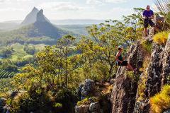 Abseiling Mount Ngungun (Glasshouse Mountains)