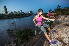 Brisbane Winter Sunset Abseil