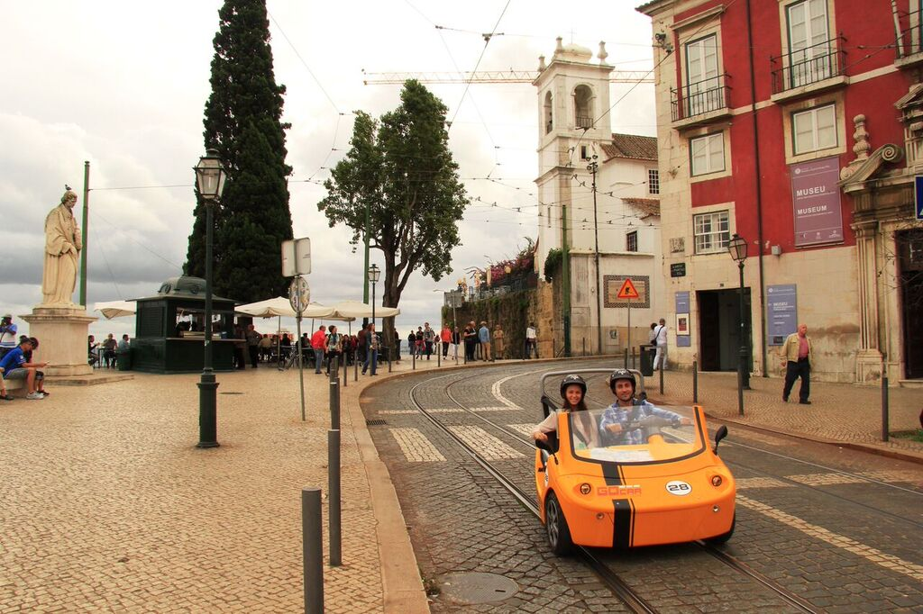 GoCar Tour - 1.5 Hour Medieval Lisbon
