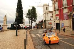 GoCar Tour - 1 Hour Medieval Lisbon