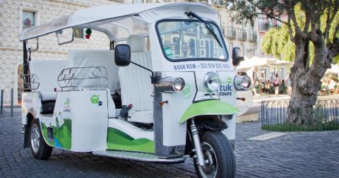 À la carte Lisboa Tour by Eco Tuk Tuk | FR