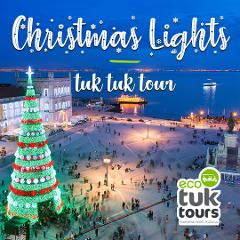Christmas Lights Tuk Tuk Tour | English
