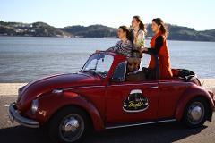 Half-day Lisbon Ride by VW Beetle | English