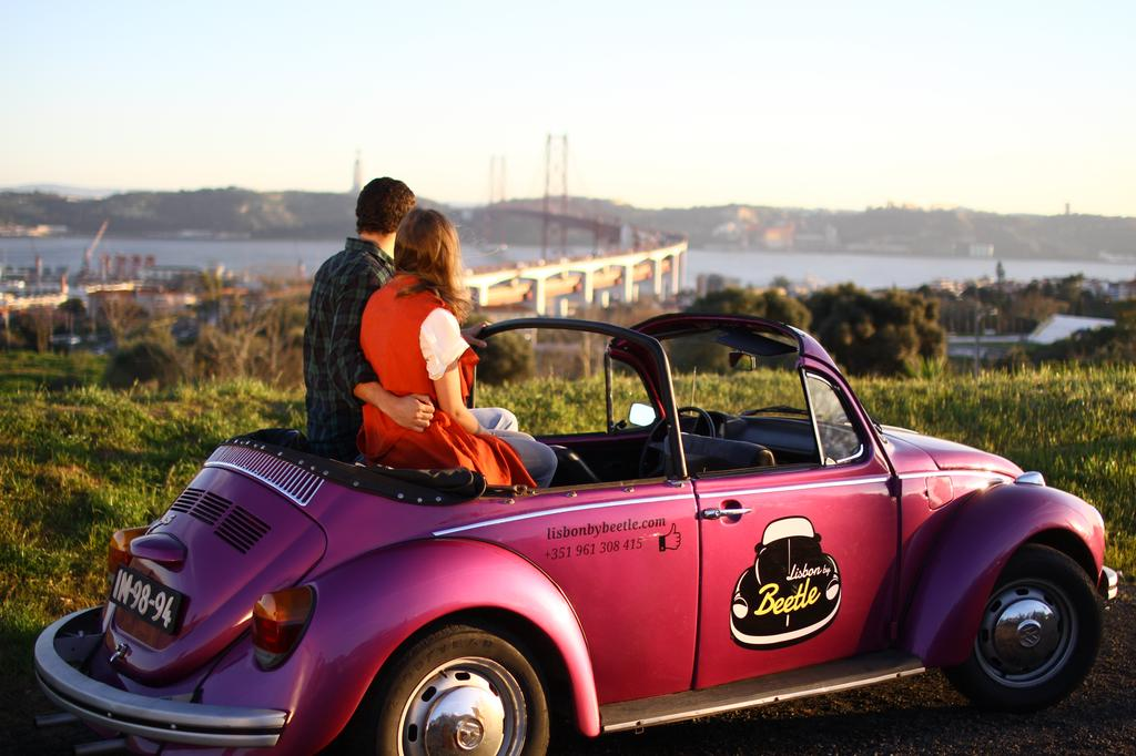 Lisbon Half-Day by VW Beetle