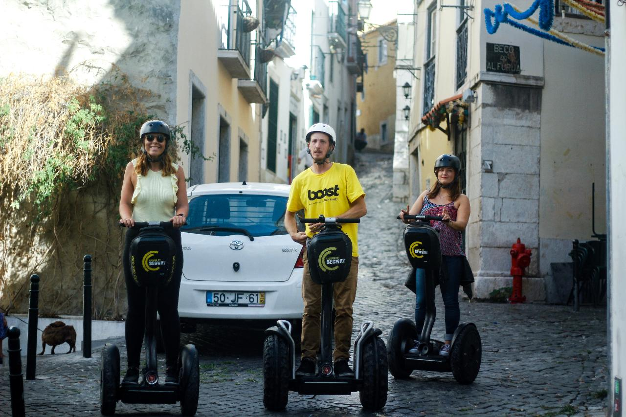 Segway Medieval Tour | French