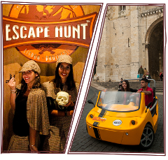 Escape Hunt + GoCar por 49€