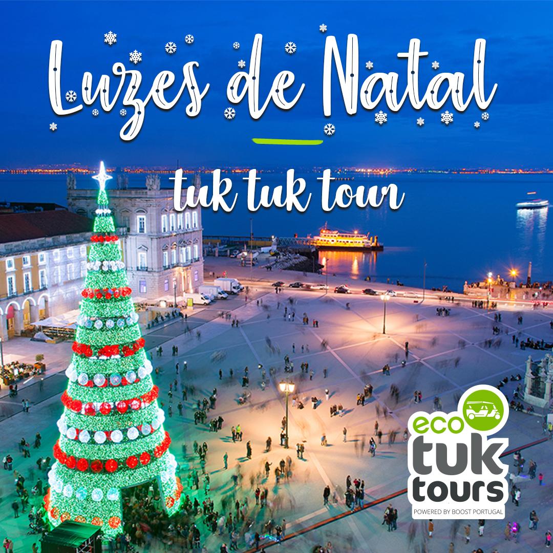 Luzes de Natal Tuk Tuk Tour | Português