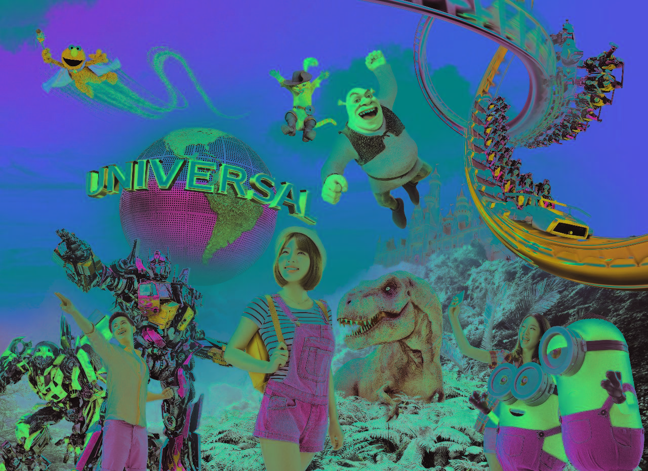 Universal Studio Singapore Tour
