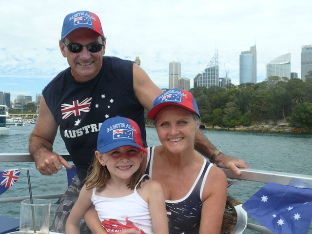 Australia Day Lunch Cruise MV Jerry Bailey