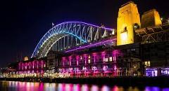 Vivid Festival of Light and Sound Cruise May - June 2018 Friday & Saturday