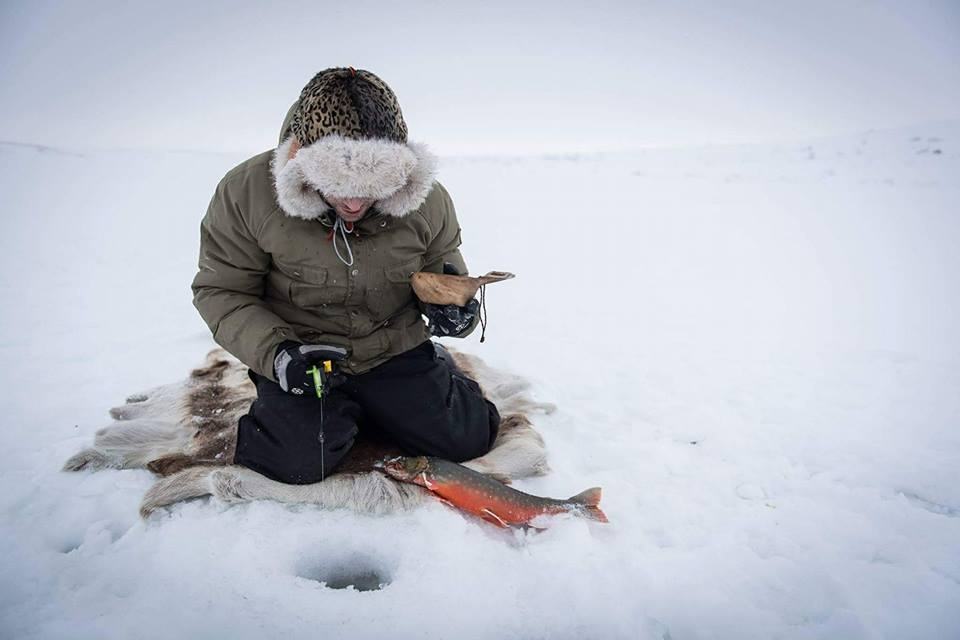 The secret arctic char lake