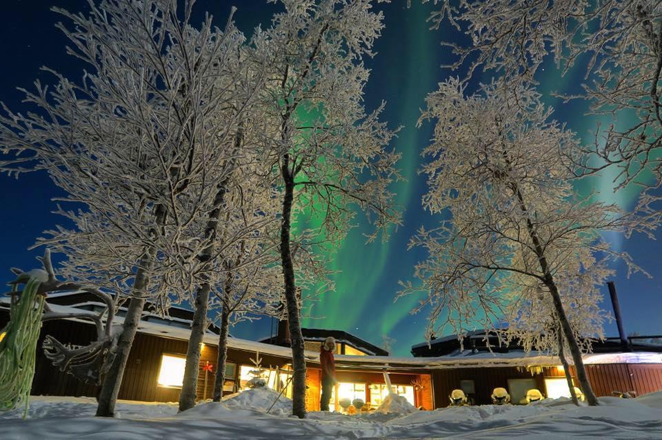 3-nights activity package break including accommodation at Máttaráhkká Northern Lights Lodge