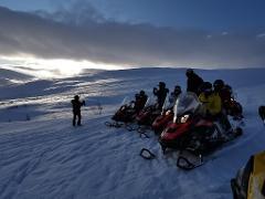 Visit Sweden's highest located mountain lodge, Låktatjåkko 1228m above sea level