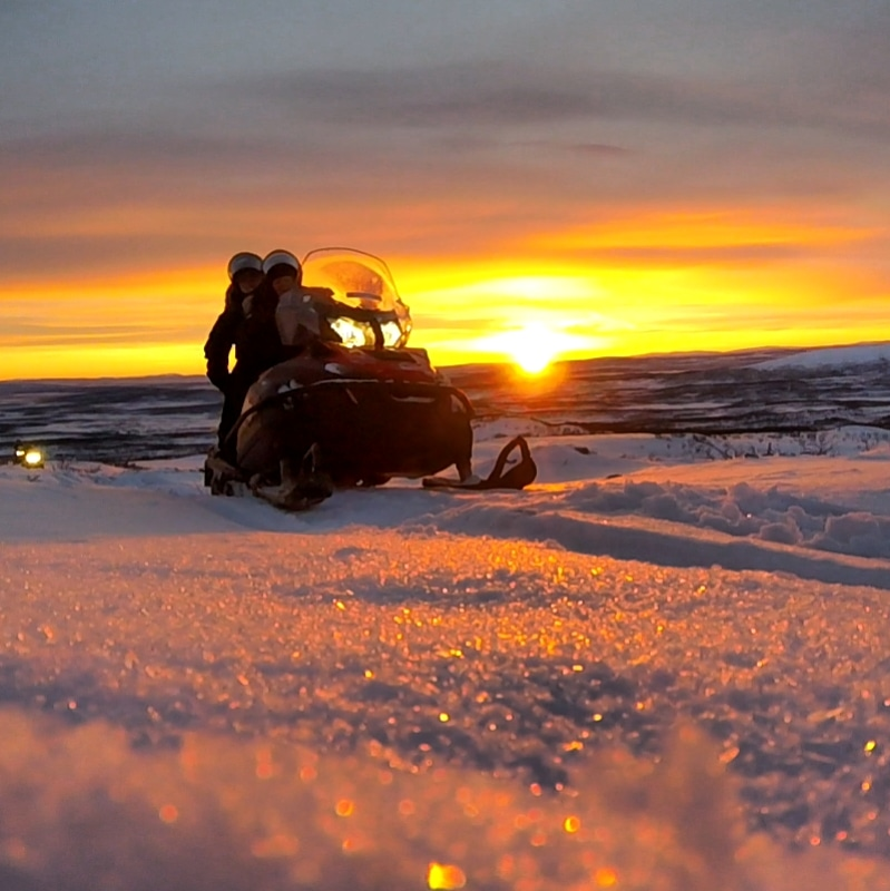 Snowmobile: Get away to the mountains