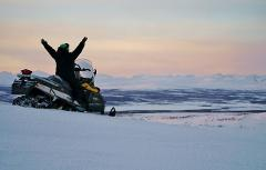 Snowmobile: Amazing views over our most famous mountain range in Sweden  (DEC-MARCH)