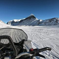 3-day private expedition: Overnight at the foot of Kebnekaise, Sweden's highest peak